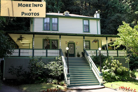Santa Nella House Guerneville CA bed and breakfast inn