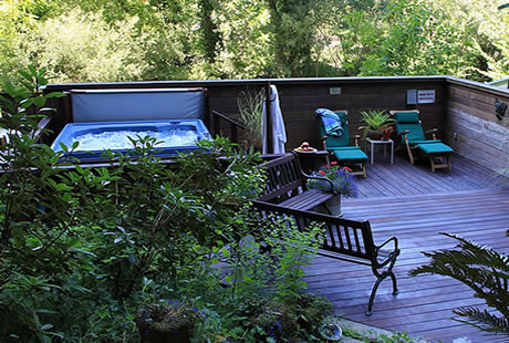 Santa Nella House Guerneville CA bed and breakfast inn
